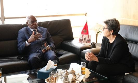 La Présidente de la HACA reçoit son homologue du Mali