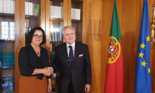 « La lutte contre la désinformation et les effets de la transition numérique sur les médias classiques » au centre des échanges entre la Présidente de la HACA et son vis-à-vis portugais le 25 juin 2019 à Lisbonne