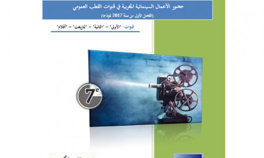 Quelle présence des œuvres cinématographiques marocaines dans les chaînes publiques durant le 1er trimestre de 2017 ?