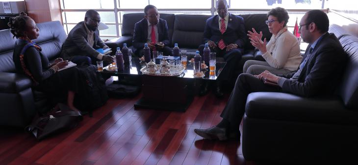 الهاكا تستقبل وفدا من هيأة تنظيم الاتصالات بتنزانيا في زيارة عمل واستخبار